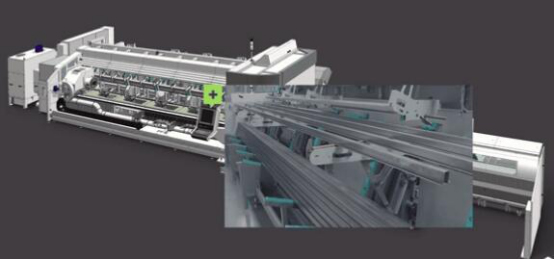 BLM公司LT7管材激光切割�O��: 全新一代管材激光切割�O��