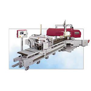 HBP360-704GA自动进料卧式斜切带锯床