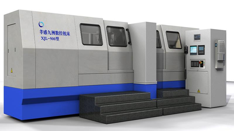 XJL-900型全自�舆B�U�i曲�S磨床