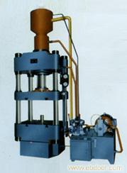 手动四柱液压机