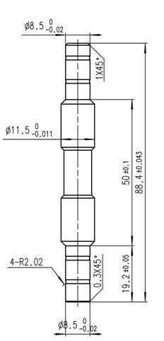 WX1013型芯�S�系�o心磨床