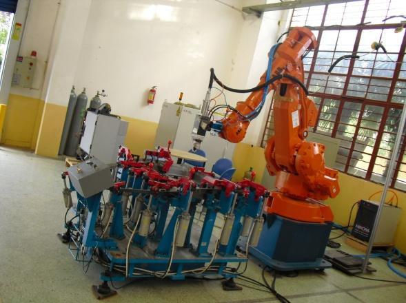 光�w激光�C器人切割焊接系�y