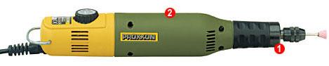 德国PROXXON迷你魔 微型铣钻机钻磨机电磨MICROMOT50/E No.28510