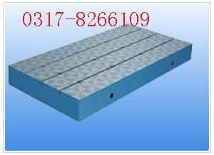 铸铁T型槽平板,铸铁T型槽平台,铸铁平板