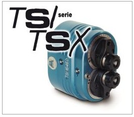 TSI/TSX系列双主头铣头