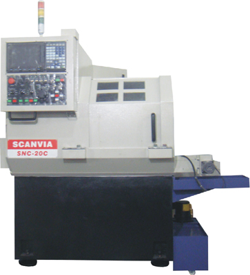 小型超精密CNC排刀式车床 SNC-20C