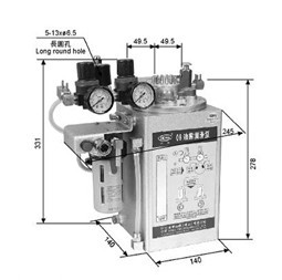 OB型油雾润滑泵