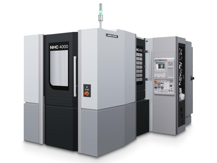 高精度�P式加工中心NHC 4000