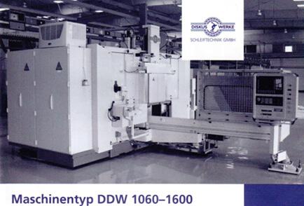 Maschinentyp DDW 1060-1600天吉网磨床