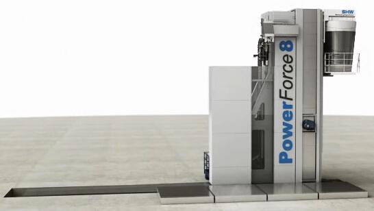 落地镗�加工中心PowerForce 8