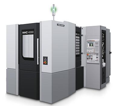 高精度�P式加工中心NHC4000