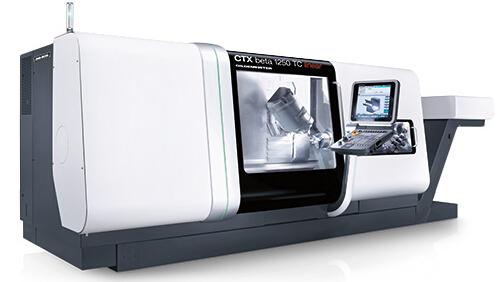 �f能加工中心CTX beta 1250 TC / linear