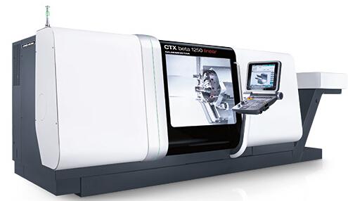 �f能型�削中心CTX gamma 1250 / linear