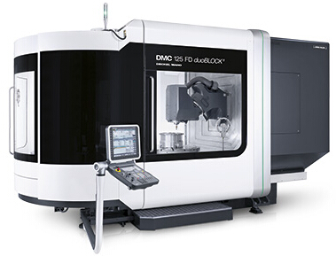5�S�f能型加工中心DMC 125 FD duoBLOCK®
