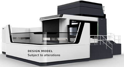 5�S�f能型加工中心DMC 270 FD