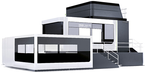 5�S�f能型加工中心DMC 340 FD