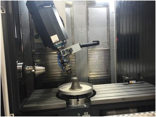 西班牙艾巴米亚3D打印与五轴机床复合机