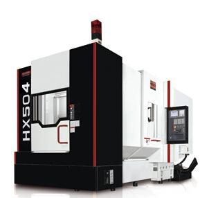 卧式加工中心机HX504C/HX505C