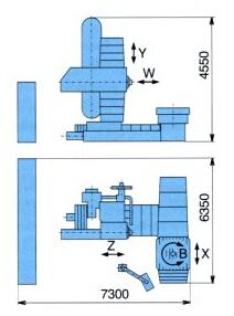 刨�_式�P式�M�床WHN 130 (Q, MC)