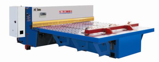 供应QS12K系列数控前送料摆式剪板机